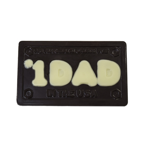 #1 Dad in USA plaque